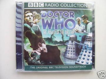 Doctor Who Power of the Daleks  CD Audio Soundtrack